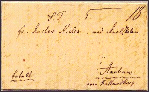 An Old Letter from 1843