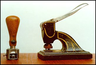 A Stamp Perforator
